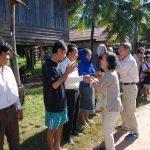 「板倉町ラオスの会」がラオス・パクトン村で最後の交流