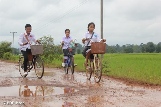 ラオス自転車プロジェクト