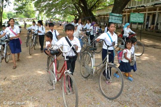 カンボジア自転車プロジェクト