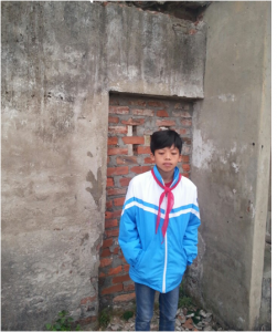 中途退学支援のベトナム中学生