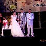 元奨学生の結婚式に「お父さん」として出席