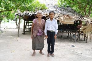 レンとおばあさん