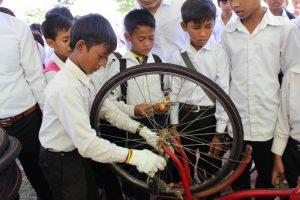 通学自転車支援プロジェクト