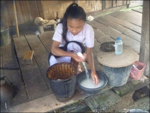 炊事をするブーンフェーン