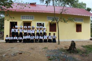 カンボジア女子寮建設