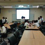 ダルニー奨学金支援校の立命館宇治高校IMコース生徒を対象に講演をしました!
