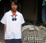 タイ奨学金申請中の子ども