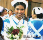 タイ元奨学生の生活
