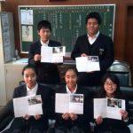 精華中学校(京都)は2008年から、書損じハガキ収集でタイ中学生19人の奨学金支援!