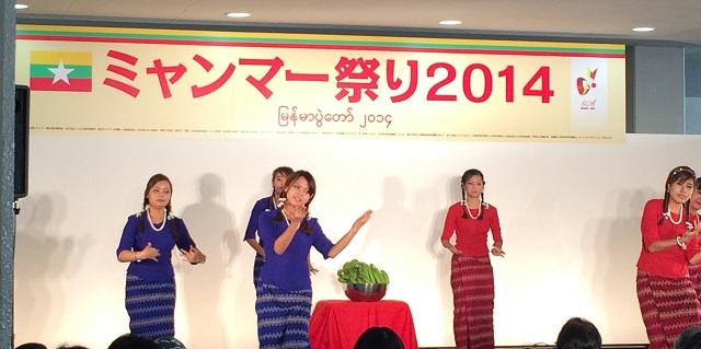 ミャンマー祭り2014