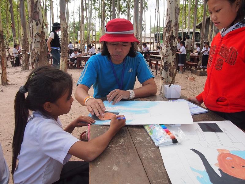 ポントゥン村美術部プロジェクトについて