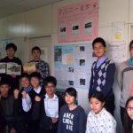 豊中市立第十四中学校は20年間もタイの中学生(計49人分)をハガキ収集で奨学金支援!