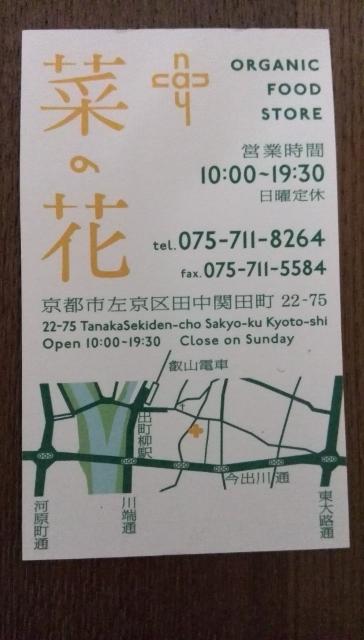 菜の花地図住所情報など