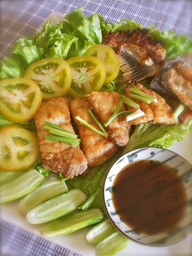 カンボジア風・魚のムニエル
