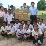 Lao-Library 1000 リサイクル寄付のお礼と報告