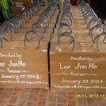 韓国の男性アイドルグループ「2PM」 ジュノさんのファンの皆さんが図書ボックスを22箱ラオスの学校へ贈りました♪