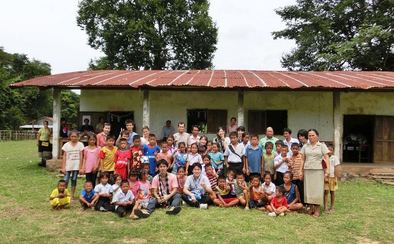 訪問・滞在した村の学校