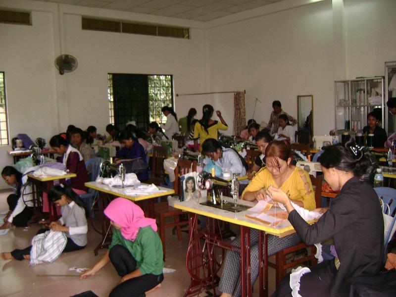 裁縫のクラス