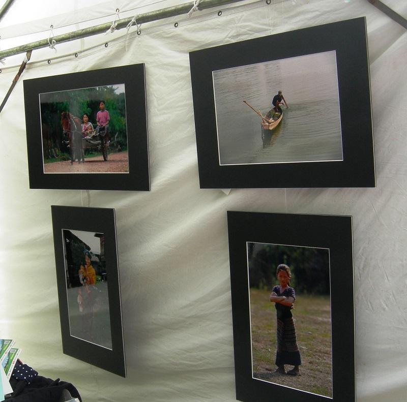 ラオスの子ども・風景の写真展