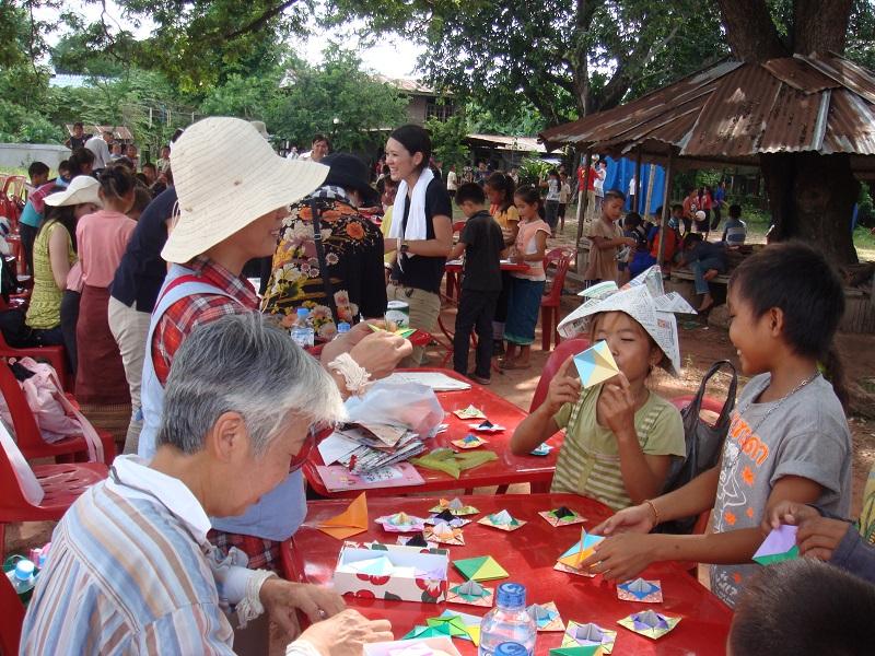ラオス・小学校支援と交流活動7日間の旅ツアー