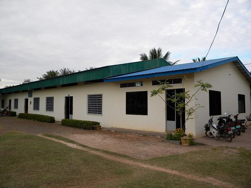 コンポンチュナン県の職業トレーニング学校