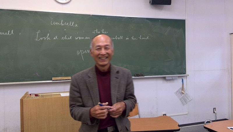 私もWin、と語る前田教諭