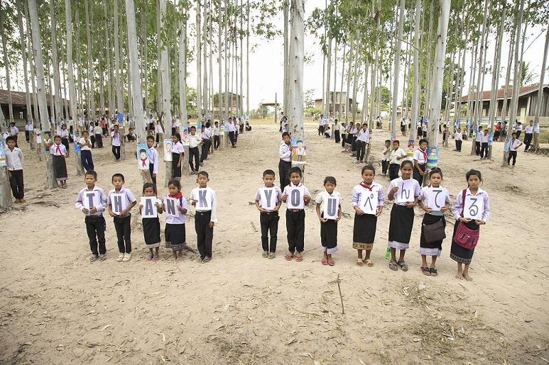 ポントゥン村の子どもたち