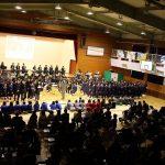 北海道の富丘中学校がチャリティ・コンサートの収益金を寄付