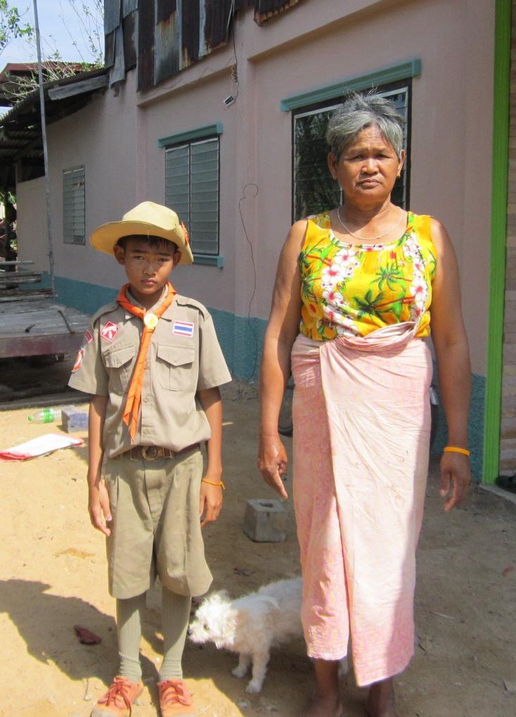 ティラワットと祖母