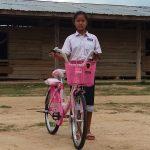 ラオスにおける自転車支援